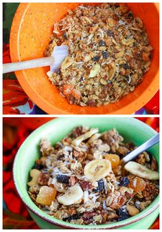 ... about Granola on Pinterest | Snack bar, Chocolate granola and Almonds
