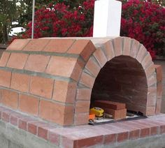 Sybesma Family Wood Fired Outdoor Pizza Oven in California by BrickWood Ovens Build A Pizza Oven, Pizza Oven Outdoor, Outdoor Kitchen Plans, Outdoor Kitchen Design, Outdoor Kitchens, Patio Design, Fire Pit Pizza, Backyard Fireplace, Outdoor Fireplaces