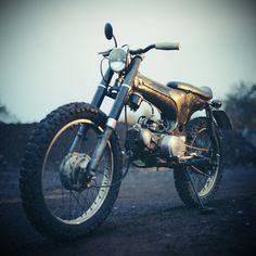 Must Have: Golden Honda Dax 50