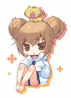 Toradora!, Taiga Aisaka, Cute Anime Chibi