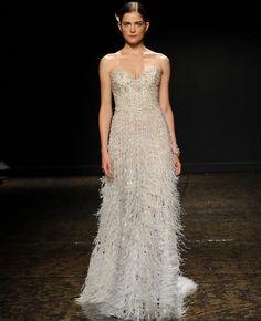 Lazaro Spring 2014 Wedding Dresses