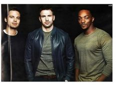 The boys of Captain America The Winter Soldier