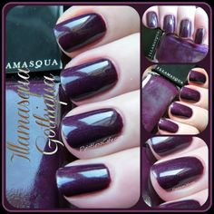 Illamasqua Gothiqua - Swatches and Review | Pointless Cafe