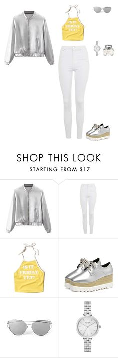 """""""Unbenannt #505"""" by sina5439 ❤ liked on Polyvore featuring Topshop, Hollister Co., Kate Spade and Gucci"""
