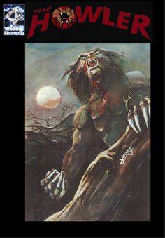 The Howler a 166 page graphic novel featuring Chris Stevens as he embarks on a quest to cure himself of his werewolf curse!  Now available at amazon.com as both paperback and Kindle editions.