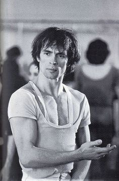 Rudolf Nureyev ~ The most amazing performance I've ever witnessed when Nureyev danced w/ Margot Fontaine in San Francisco, 1966 just before she retired.  http://www.flickr.com/photos/inniscove/2955697551/