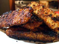 BK Supperclub Challenge: Balsamic BBQ Seitan and Tempeh Ribs Raw Vegan, Vegan Vegetarian, Vegetarian Recipes, Cooking Recipes, Vegan Food, Vegetarian Dinners, Drink Recipes, Plant Based Recipes, Veggie Recipes