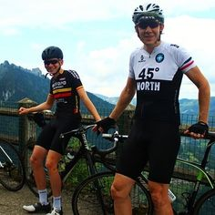 Anyone recognise our new lead rider here with Chris? @jamiewimborne  is going to be with us this year for the Tour de France week ... Still some spaces left so get in touch