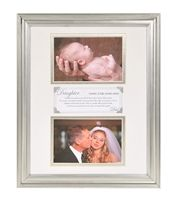 Giving Your Hand Away Wedding Keepsake Frame from The Grandparent Gift Co.