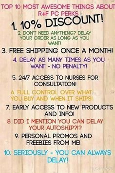 Hi folks: I need to ask for your support, I am VERY close to crushing another milestone in my R+F business, and right now, I need 10 people to join me and place an order as a Preferred Customer this month. I would appreciate your support and your help with this! You can order at jessical.myrandf.com