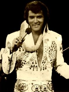 Elvis....Aloha from Hawaii concert in 1973 was televised to over 40 countries via satellite.