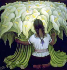 Diego RIVERA, The Flower Vender 1941