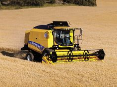 New Holland TC5.80 New Holland, Harvest Time, Harvester, Tractors, Vehicles, Rolling Stock, Tractor, Vehicle