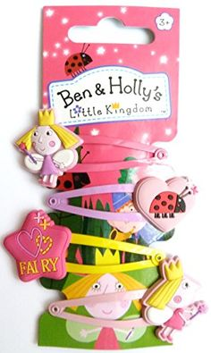 Ben & Holly hair clips set of 4 Ben & Holly http://www.amazon.co.uk/dp/B00LH1SZNA/ref=cm_sw_r_pi_dp_B.U6ub01GS2FV