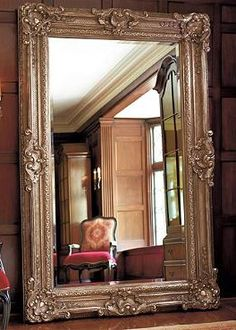 The Josephine Floor Mirror will make any room feel bigger while adding sophistication with it's elegant detailing and statuesque frame.