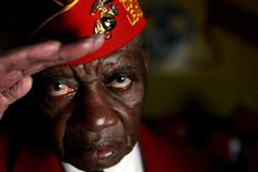 Robert Hassler, 86, of Detroit, a Montford Point Marine, served his country in the South Pacific from 1942 to 1949.