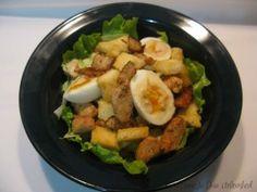 Chicken Salad w/ Cashew Maple Dressing (salicylate free)
