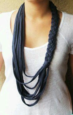 Aprende a hacer un collar diferente tu misma ¡Es muy fácil!