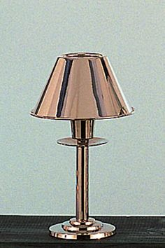 Silver Mini Lamp with Shade