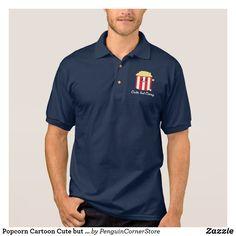 Popcorn Cartoon Cute but Corny T-Shirt