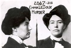 Emma LeDoux, the first woman to receive the death penalty in California, used an old trunk to dispose of her husband's body and left it at the train depot. http://www.cultofweird.com/americana/emma-ledoux-murder-trunk/