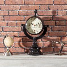 #zegar #clock #watch #decoration #dekoracje  #home #interior #design #ideas Zegar Trophy metal 48cm, 31x48cm - Dekoria