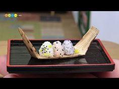 DIY Miniature Rice Ball (Fake food) ミニチュアおにぎり作り - YouTube