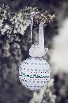 Handmade sequin ornaments Available in 2 sizes 2 round (tennis ball size) or 3 round (baseball size) Ornaments can also be customized with