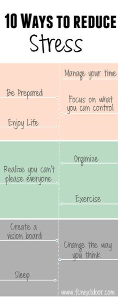 Our top 10 tips for reducing stress! #healthy #fit #stressfree #reducestress #FCnextdoor