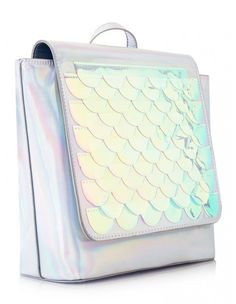 Bianca Mermaid Scale Holographic Backpack - Skinny Dip London - Mermaid Lovers - Back To School Style - Cute Backpack - Stylish Backpack - Mermaid Gifts - School Accessories Unique Gifts - Shop Colorful Gifts