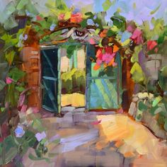Bienvenue, painting by artist Dreama Tolle Perry