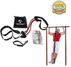Styles II Fitness Pull-Ups Assist Band Exercise Tube Bands Best Upper Body Workout Durable come with a carrying bag and a 1 year Warranty Styles II Fitness Strength Training Equipment, No Equipment Workout, Workout Gear, Fitness Equipment, Workouts, Best Resistance Bands, Resistance Band Exercises, Mens Fitness, Fitness Tips
