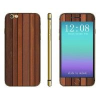 $4.98 Designed to fit the contours of the 4.7'' iPhone 6        Decorated with wood grain pattern design       P