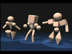 very cool - 3D dancing shape video. (1:39)