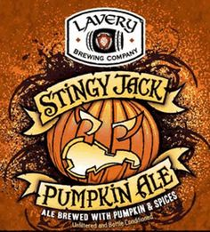 Lavery STingy Jack Pumkin Ale, downtown Erie, Pennsylvania