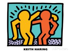 Untitled Pop Art Giclee Print by Keith Haring at AllPosters.com