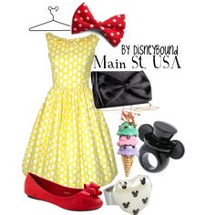 I love this collection by DisneyBound titled Main St. USA.