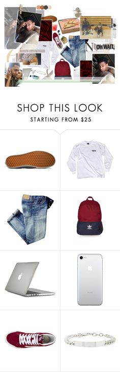 """""""&. nothing gon change. yeah, nothing gon change, it's stays the same. nothing's gonna change the crazy little games we play."""" by foreig-n ❤ liked on Polyvore featuring Vans, adidas, Speck, Loren Stewart, WALL, men's fashion and menswear"""