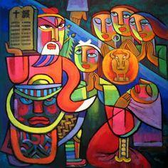 he qi art | 10 Commandments