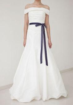 Princess Changeable Shoulder Ruffled Wedding Dress. It doesn't look like a wedding dress but 100% cute. Definitely princess-y.