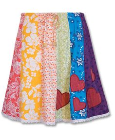 Toddler Patch Skirt