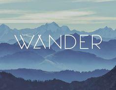 Wander UI design