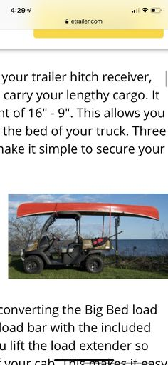 tjwinstel � trailer canoe mount