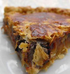 Galette des rois pommes, chocolat, cerises et amandes - Recettes de cuisine Ôdélices