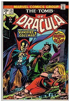 TOMB OF DRACULA 29 VG-F Feb. 1975 COMICS BOOK @ niftywarehouse.com #NiftyWarehouse #Dracula #Vampires #ClassicHorrorMovies #Horror #Movies #Halloween #Vampire
