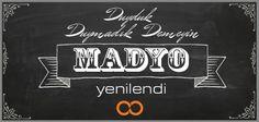 Yenilendik geliyoruz demiştik, an itibari ile geldik sevgili #madyoseverler    http://madyo.net/