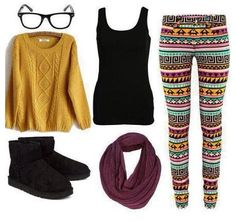 I literally would wear everything on this. Including the glasses.
