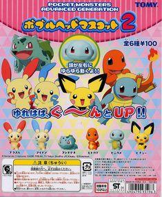 TAKARATOMY A.R.T.S Pokemon DP11 anime All 6set Gashapon mascot toys Complete set