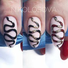 #nailarttutorial #snakenail