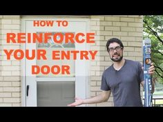Reinforce and Burglar Proof Your Entry Door -- by Home Repair Tutor
